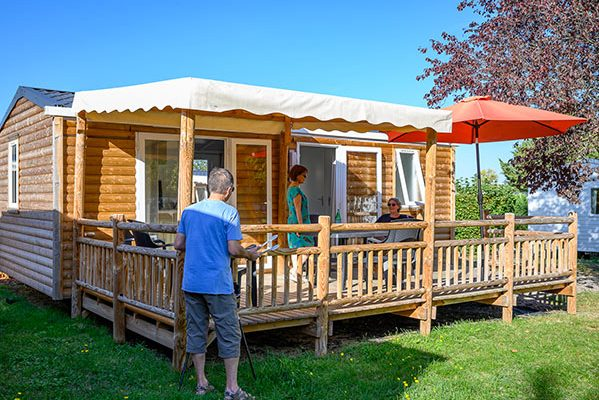 Le ranch des volcans mobil home 2 chambre premium - Pot de chambre camping ...